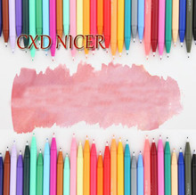 10 Different Color Watercolor Pens Kids Art Supplies Graffiti Fine Liner Colored Maker Pens Calligraphy Drawing Pen