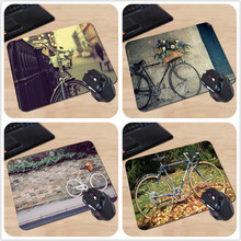 Babaite Customized Mouse Pad Vintage Bicycle Classical London Computer Notebook Logo Printing Mouse Pad Soft Rubber Mat(China)