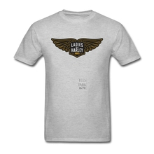 T Shirts Ladies of Harley  Motorcycle  Club Men Slim Fit Short Sleeved T-Shirts High Quality Homme T Shirt Printing
