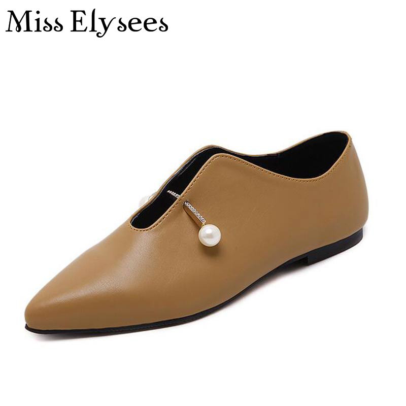 Slip on Pointed Toe Women Flat Shoe Crystal Flats Woman 2017 Spring Summer Fashion Womens Shoes Casual Female Shoe Woman<br><br>Aliexpress