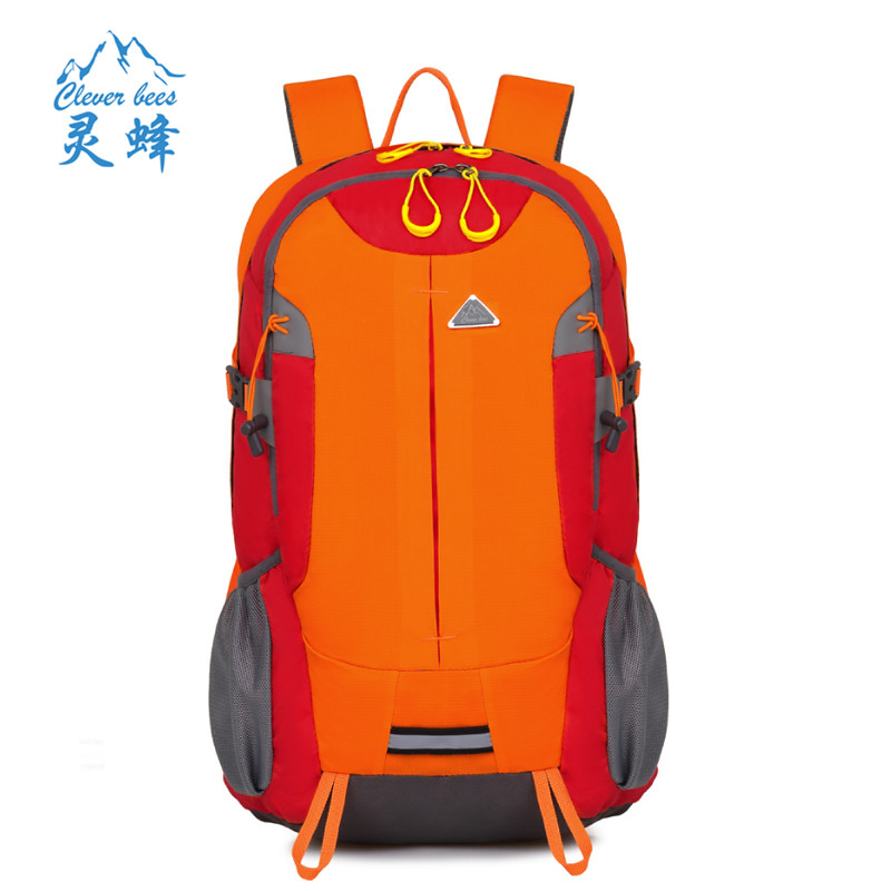 New Arrival High Quality Waterproof Polyester Fabric Climbing Bags 40L Camping Hiking Outdoor Sport Backpack<br>