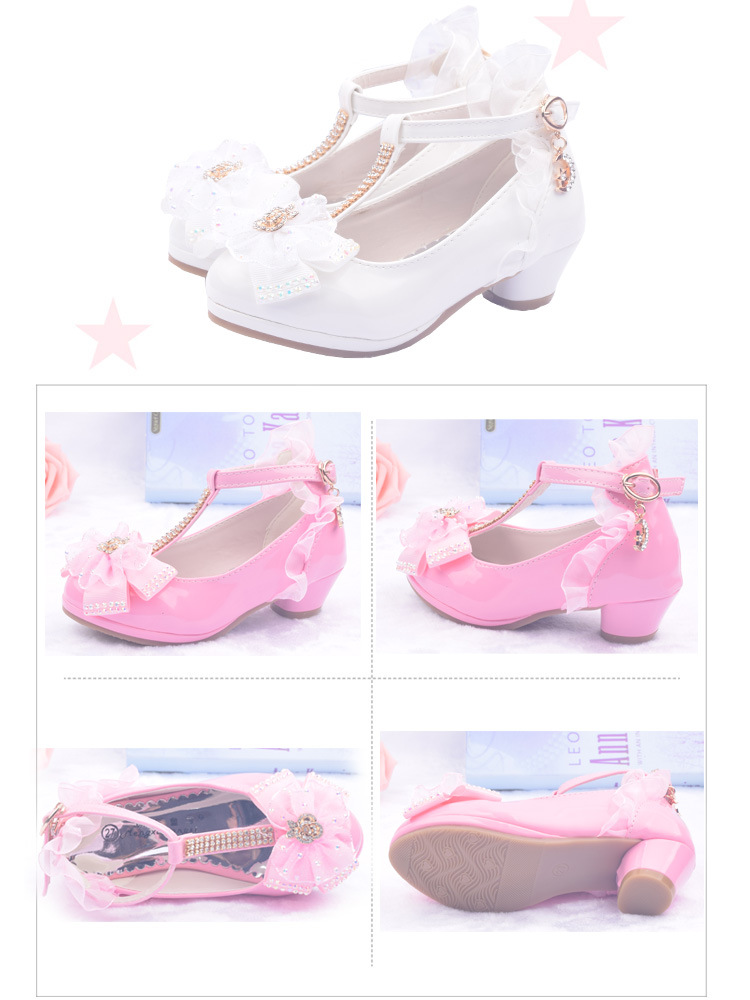 Children Party Leather Shoe