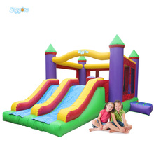 Inflatable Biggors Inflatable Jumping Bouncer With Double Slide For Fun