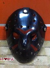 New Black Color Cosplay Delicated Jason Voorhees Freddy Hockey Festival Party Halloween Masquerade Mask --- Loveful