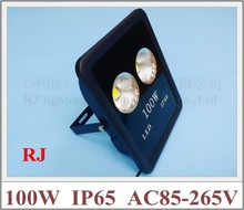 new design with cup shape reflector LED flood light floodlight spot light lamp 100W (2*50W) AC85-265V IP65