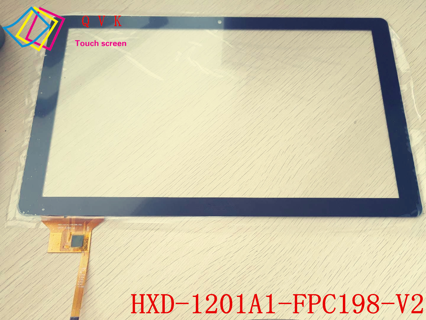 Black 12.1 Inch touch screen For HXD-1201A1-FPC198-V2 Capacitive touch screen Tablet PC replacement repair<br>