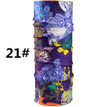 Japanese samurai Motorcycle Scarf Breathable Protection Wind Headbands Sport Bandana Seamless Tubular for face Muslim Hijab(China)