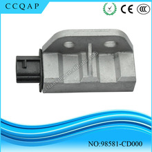 High quality auto parts crash sensor/ Airbag sensor 98581-CD000 for Japanese car