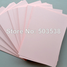 Buy 100PCS/LOT,Pink blank cards.Paper crafts.Handmade invitation cards,Create cards,DIY wedding cards,15.5x10.8cm,On stock for $14.94 in AliExpress store