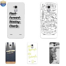 Z-1For ZTE Blade V7 Lite Phone Case For ZTE Axon 7 A2017 / 7 Mini Cover For ZTE Blade A1 C880U Shell TPU Inspirational Design