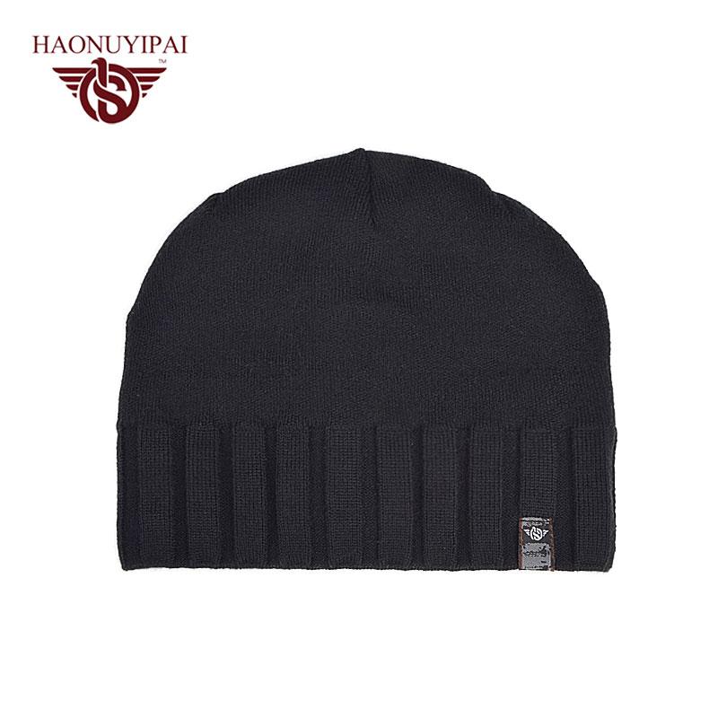 Winter Hats For Men Solid Color Bonnet Knitted Cotton Soft Beanie Caps Adult Casual Skullies Beanies Outdoor Travel Cap  A117Îäåæäà è àêñåññóàðû<br><br><br>Aliexpress