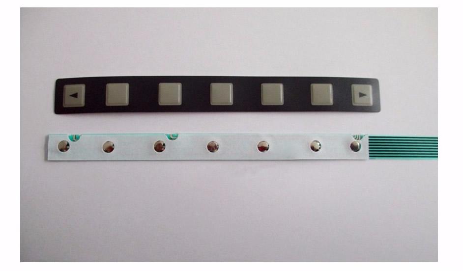 A86L-0001-0298 Membrane Keypad for FUNUC panel repair (7 keys), New in stock.<br>