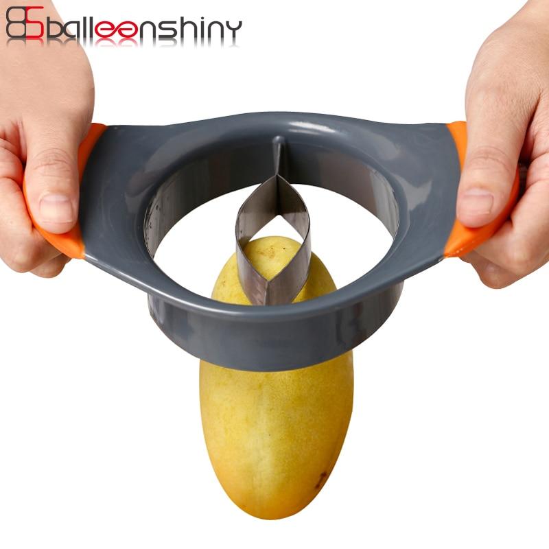 NEW Mango Stainless Steel Seed Remover Slicer Splitter Cutter Stoner
