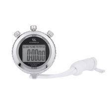 Antimagnetic Chronograph Metal Digital Timer Stopwatch Sports Counter Waterproof Stopwatch shockproof Outdoor Tools(China)