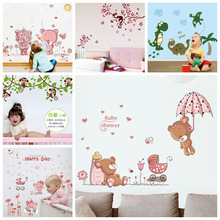 Baby Wall Sticker Nursery Wall Sticker for Kids Room Decal Baby Children Cute Home Decor