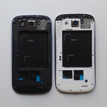 Buy Middle Frame Housing Case Replacement Part Bezel Samsung Galaxy S3 i9300 9300i + Front Plate Frame LCD Holder Bezel housing for $6.84 in AliExpress store