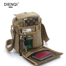Buy DIENQI Brand High Multifunction Men Canvas Bag Casual Travel Bolsa Masculina Men's Crossbody Bag Men Messenger Bags for $10.79 in AliExpress store
