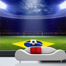 World Cup Sports football Mural Theme stadium 3d wall mural wallpaper for Club Bar sofa background Soccer 3d photo murals