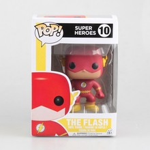 Funko POP 10 super hero the Flash 10cm Boxed Figure Collection Model Toys