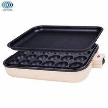 Takoyaki Grill Pan Plate 24 Holes Cooking Octopus Balls Maker Meat Roast Baking Tools Mold Kitchen Cooking Tools Cookware 2 In 1