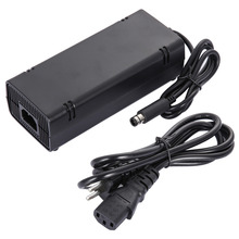 EU Plug AC Adapter Charge Charging Charger Power Supply Cord Cable Black For Microsoft For Xbox 360