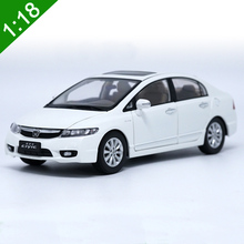 New 1:18 HONDA CIVIC 8 Generations Alloy Diecast Car Model Toys For Kids Christmas Gifts Collection Original Box Free Shipping