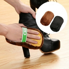 SENNLLJUNG 1 PcsFree Shipping Hot Multifunctional Shoes Shoeshine Brush Fluff Gloves Polishing Cloth To Wipe Shoe Towel