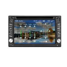 "6.2"" Double DIN In-Dash Car DVD Player gps navigation Unit with Radio/Bluetooth/Stereo/Audio TV with remote optional android4.2"