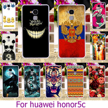 AKABEILA Soft TPU Plastic Phone Case For Huawei Honor 5C GT3 Honor 7 Lite Honor5C Honor7 Lite 5.2 inch Case Cat Cover Housing(China)