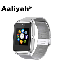 [Aaliyah] GT09 Bluetooth Smart Watch Support SIM &TF Card With Camera Call Sync Men Women Smartwatch Wristwatch For IOS Android