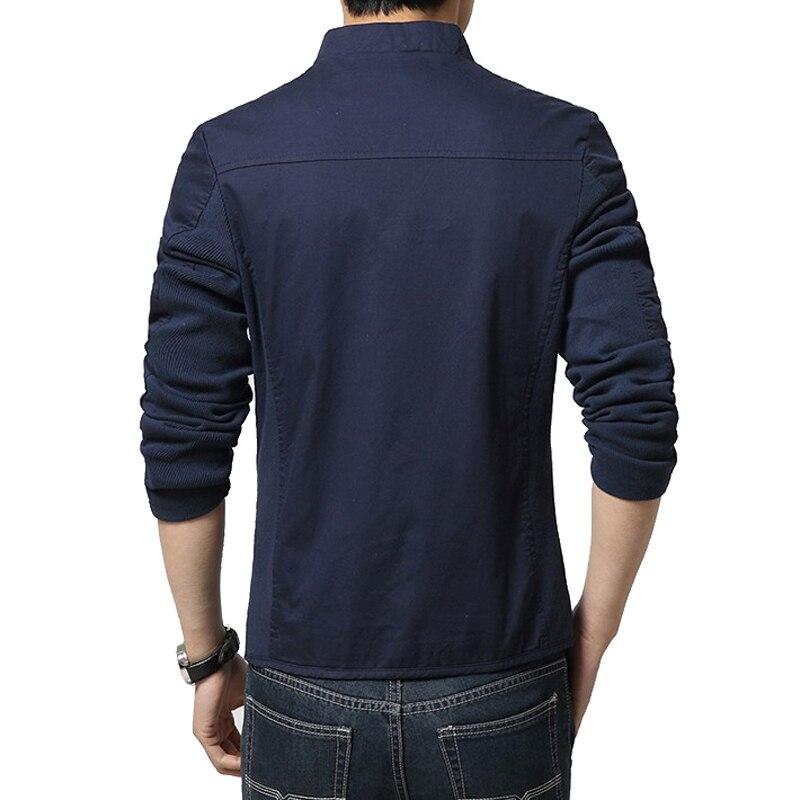 TANGNEST Men Jacket 2017 New Arrival Slim Men Jacket Fashion Korean Style Mandarin Collar Zipper Young Thin Men Jacket MWJ793