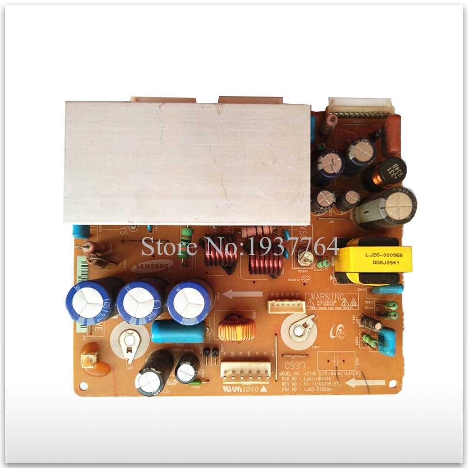 95% new original for board Plasma LJ41-06614A LJ92-01669A YD12 YB08 good board <br>