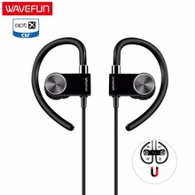 Wavefun X-Buds Metal wireless headphones earphone bluetooth headset 120mAH with mic sweatproof for phone xiaomi iPhone sports(China)