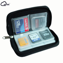 ISKYBOB 22 Slots CF SD XD MS Card Portable Storage Pouch Case Holder Wallet Bag(China)