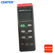 CENTER301 K Type/Dual Input/PC Interface Digital Thermometer(China)