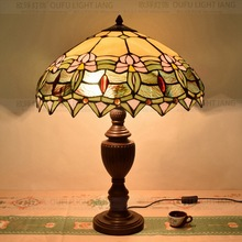 50CM American Pastoral  Tiffany table lamp bar personalized decoration room dining shop lamp  Bedside Lamp E27 110-240V
