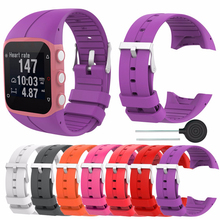 210mm Colorful Replacement Wrist Band Strap Bracelet GPS Running Replace For Polar M430 / M400 Smart Watch(China)