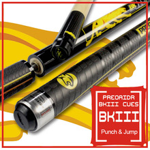 New Arrival 3142 Brand BK3 Pool Punch & Jump Cue 13mm Tip Billiard Stick Jump Cues Sport Handle 147cm Length China 2017