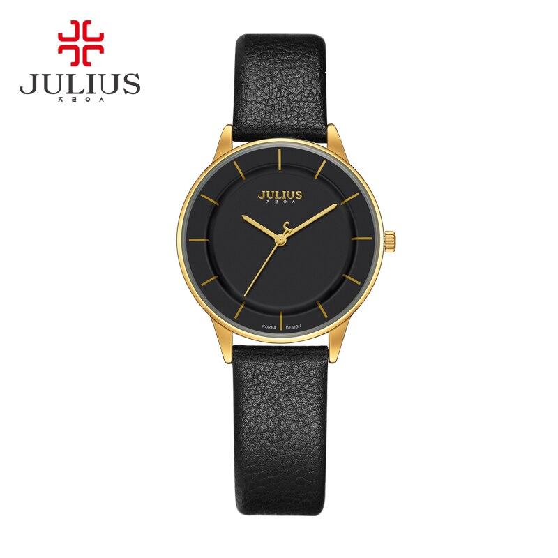 2017 JULIUS Quartz Brand Lady Watches Women Luxury Antique Square Leather Dress Wrist Women Watch Relogio Feminino Montre Simple<br>