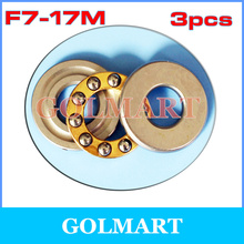 Buy 3pcs RC Models F7-17M 7*17*6mm Plane Thrust Ball Bearing Miniature Axial Ball Thrust Bearing 7mm rail for $1.10 in AliExpress store