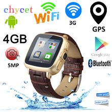 A9 Android Bluetooth Smart Watch Phone Dual Core WiFi GPS Smartwatch 5MP Camera Max 32GB TF Card Wristwatch Intelligent Clock