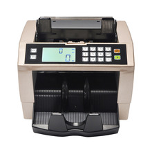 Automatic Money Counter for most Currency Note Bill Cash Counting Machine with UV MG Counterfeit Detector(China)