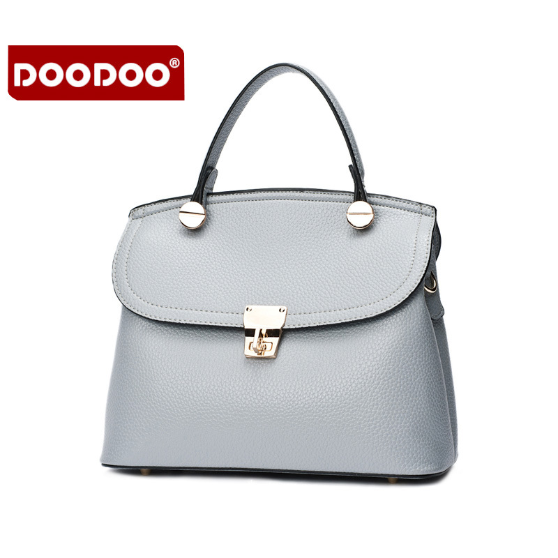 DOODOO Famous Brand Women Bag Genuine Leather Vintage Luxury Cowhide Shoulder Messenger Bags Bolsa Femininas Cowhide  J940<br>