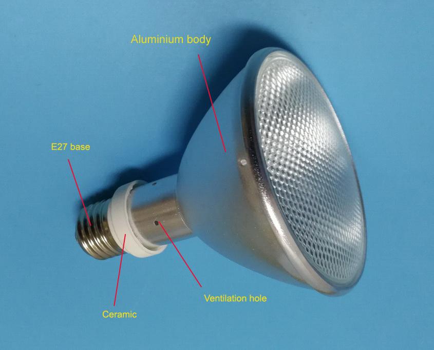 UVB metal halide pet lamp2