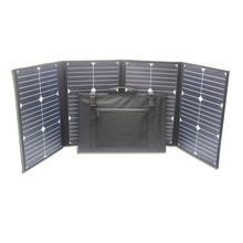 Make in China outdoor mobile sun power charger, 80W portable solar charging pack for tigital product using.
