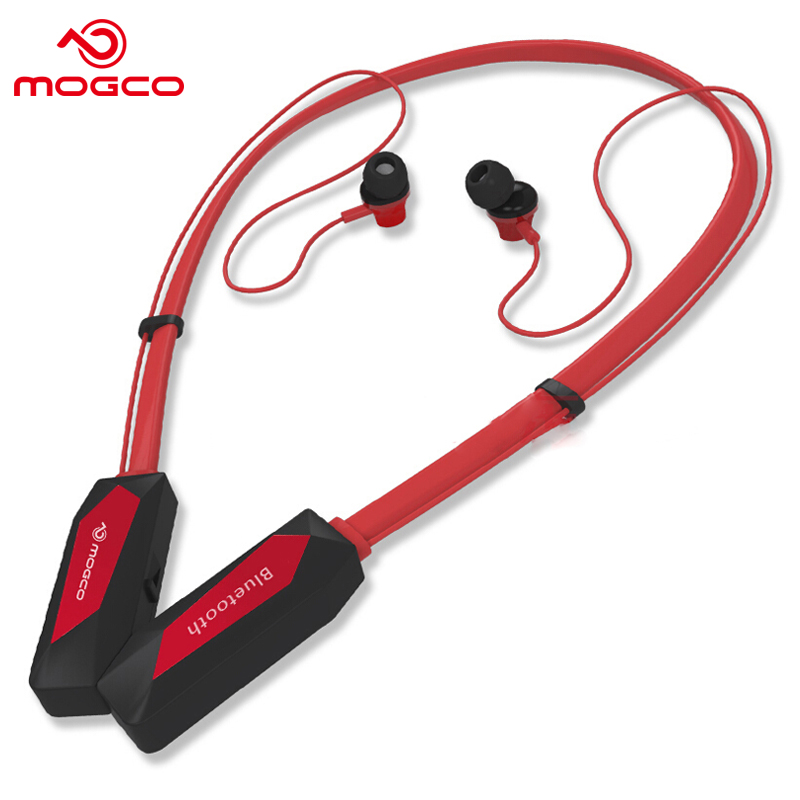 MOGCO SD2 Sport Earphone Bluetooth 4.1 In-ear Stereo With Mic Phone Headset Wireless Control Earbunds For iPhoneX Samsung Xiaomi<br>