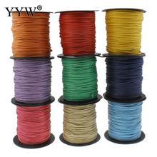100m/Spool 2mm Nylon Cord High Quqlity Plastic Spool Bracelet Necklace Making DIY Jewelry Supplies(China)