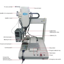 IBK automatic cnc welding robot soldering Robotic for LED Bulb welding(China)