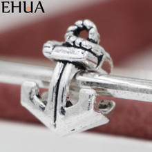 Free Shipping Sliver Bead Charm Anchors Accessories Beads Fit Pandora Bracelets & Bangles DIY Jewelry