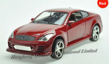 1:32 Scale Alloy Metal Diecast Luxury Car Model For Nissan Infiniti G37 Toy Collection Pull Back Car With Sound&Light